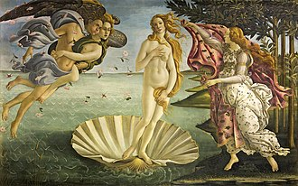Italian Renaissance painting - Botticelli: The Birth of Venus for the Medici