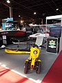 Electric watercraft and three wheeler, Automotive 2017 Hungexpo.jpg