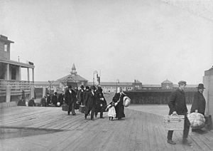 Immigrants Landing at Ellis Island