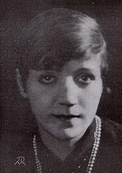 Elsa Widborg.   Foto i Scenen 1927
