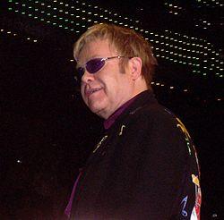 Elton John i Anchorage, Alaska, 2008.