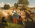 Emanuel Gottlieb Leutze - Mrs. Schuyler Burning Her Wheat Fields on the Approach of the British - Google Art Project.jpg