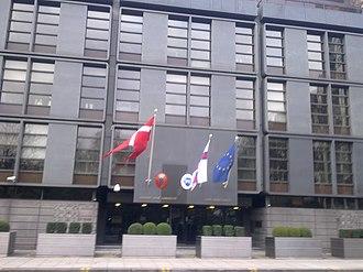 Embassy of Denmark, London - Image: Embassy of Denmark in London