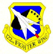 Emblem of the 122nd Fighter Wing (Indiana ANG)