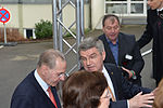 Empfang IOC Präsident Thomas Bach mit Jacques Rogge (8 von 9).jpg