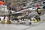 English Electric Lightning F.1 'XM135 - B' (39352699245).jpg