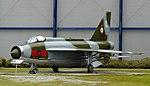 English Electric Lightning F.6, Warner-Robbins Air Museum, Georgia.jpg