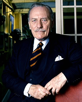 Enoch Powell - Powell in 1987 by Allan Warren