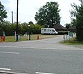 Entrance to Amberley Fields Caravan Site, Next to Flight Tavern, Charlwood Road, Near Crawley, West Sussex - geograph.org.uk - 28606.jpg