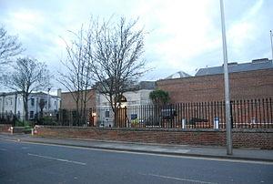 HM Prison Canterbury - Image: Entrance to Canterbury Prison geograph.org.uk 2918711