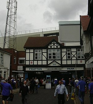 Entrance to Fratton Park (Frogmore Road) - geo...