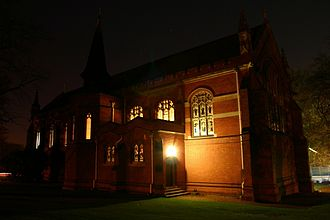 Epsom College - Image: Epsom College Chapel looking south