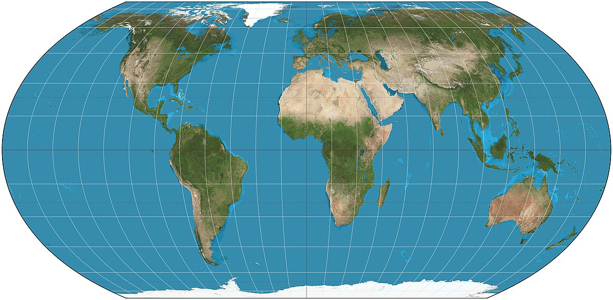 Equal Earth Projection Wikipedia