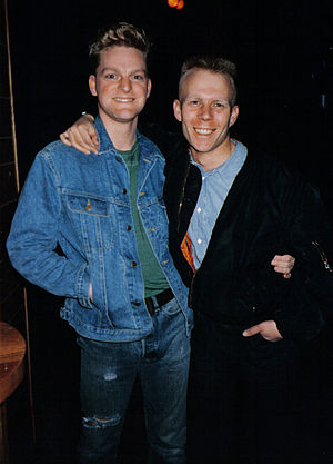 Erasure - Andy Bell and Vince Clarke in 1986