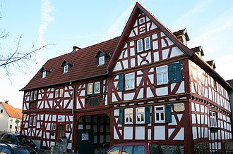 Bad Camberg - Old mayor's house in Erbach