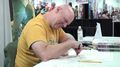 Erik Larsen, sketching, 2015 New York Comic Con, 2015-10-09-15h53m27s786.png