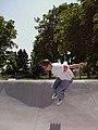 Erika Schnell Rollerblading at Wenatchee Skatepark 2000 2.jpg