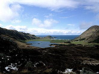 Ervik, Sogn og Fjordane - View of the village and shore