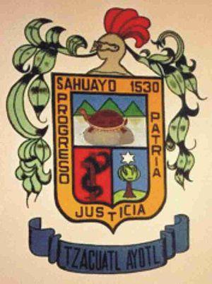 Official seal of Sahuayo de Morelos