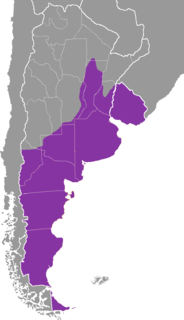 dialect spoken in countries near the Río de la Plata