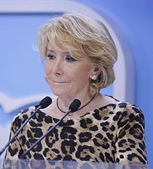 Image illustrative de l'article Esperanza Aguirre