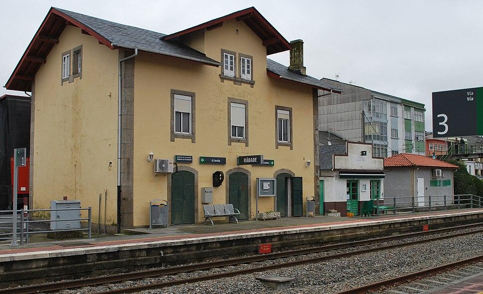 Estación de Rábade Lugo