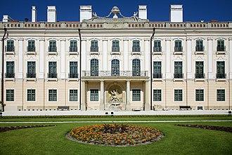 Eszterháza - Image: Esterházy kastély (4051. számú műemlék) 10