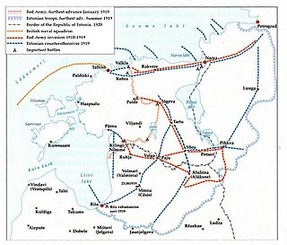 war between Estonia and Soviet Russia in 1918–1920