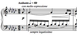 Étude Op. 10, No. 6 (Chopin) étude written by Chopin