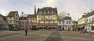 Euskirchen - Euskirchen, old market (Alter Markt).