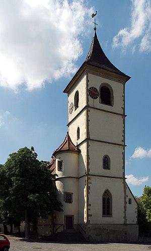 Unterriexingen - Evangelical church Unterriexingen