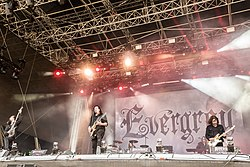 Evergrey live beim Rockharz Open Air, 2018