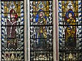 Exeter Cathedral east window, St Peter, St Paul, and St Andrew (36765401182).jpg