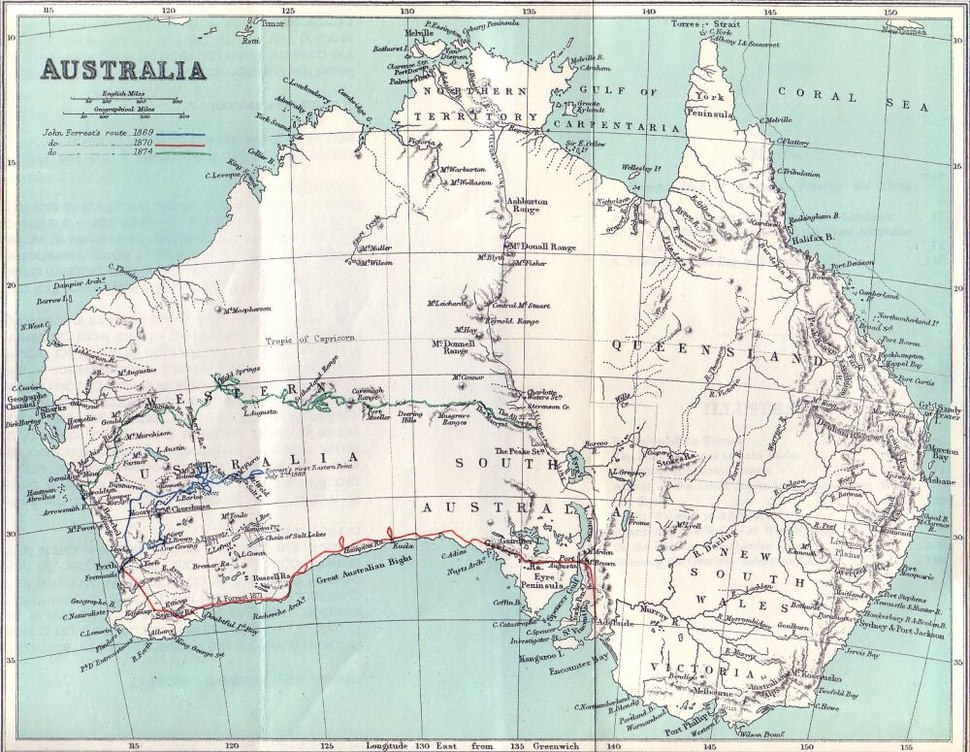 Expeditions of John Forrest