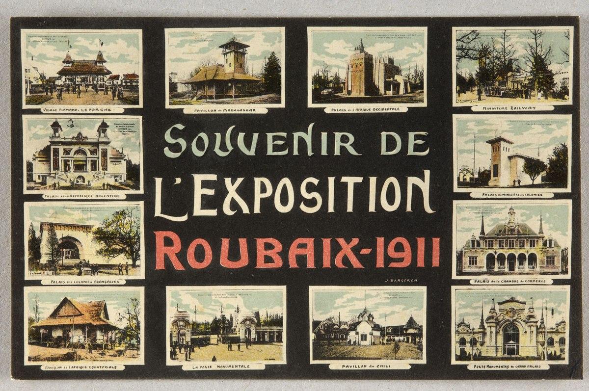 exposition internationale du nord de la france de 1911 wikip dia. Black Bedroom Furniture Sets. Home Design Ideas