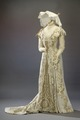 Förmiddagsklänning, drottning Victoria - Livrustkammaren - 41483.tif