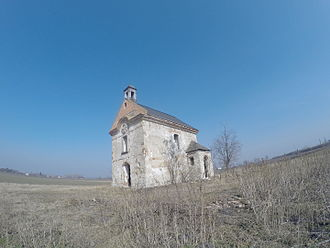 Füzesabony - Abandoned chapel just outside Füzesabony