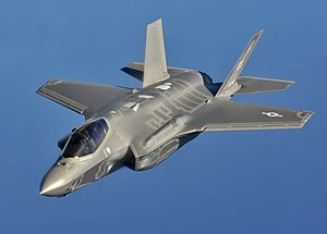 F-35A off the coast of Northwest Florida.