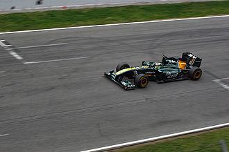Ricardo Teixeira (racing driver) - Image: F1 2011 Barcelona test Lotus
