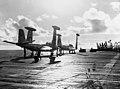 F2H-3 Banshees of VC-3 aboard USS Hornet (CVA-12) on 1 October 1954 (80-G-663584).jpg
