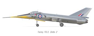 Robert Lickley - Fairey Delta 2
