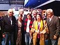 FOTO 1 - Fátima Bezerra, a Ministra Ana de Hollanda, os escritores Ziraldo, Zuenir Ventura e Nélida Piñon; os deputados federais Newton Lima Neto (PTSP) e Antônio Roberto Soares.jpg