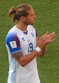 Rúrik Gíslason Icelandic footballer