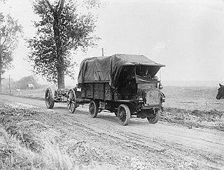 FWD Model B 3-ton truck