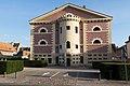 Façade de l'ancienne prison (Pont-l'Évêque, Calvados, France).jpg