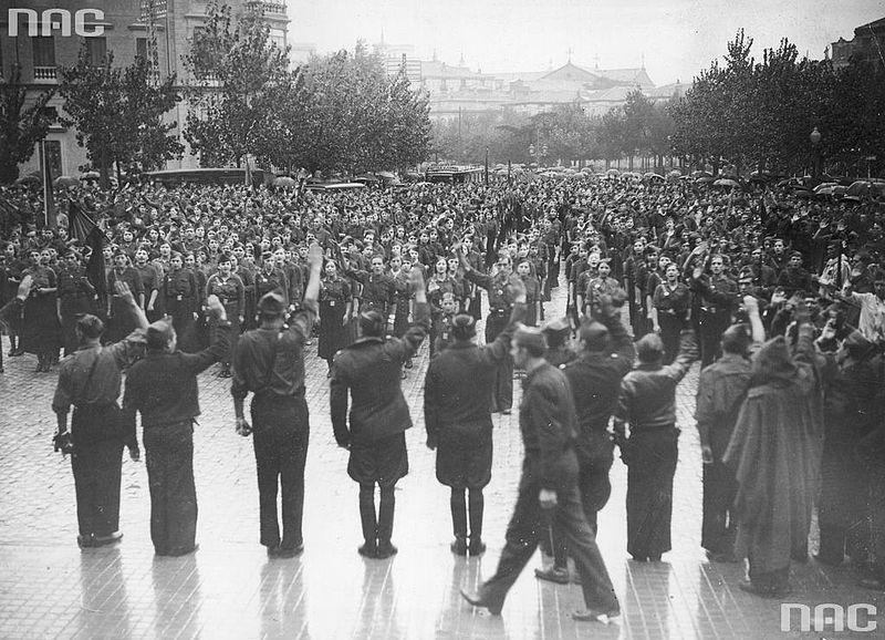 File:Falange Members in Saragossa 1936.jpg
