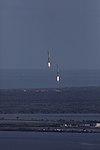 Falcon Heavy side boosters landing at KSC 04.jpg