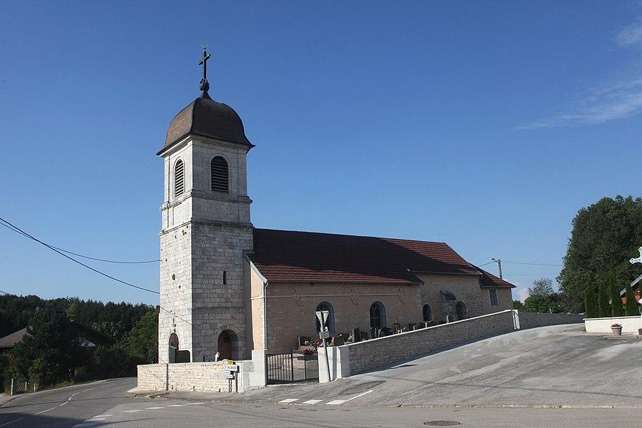 Église de Fallerans (Doubs).