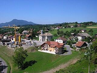 Faucigny Commune in Auvergne-Rhône-Alpes, France
