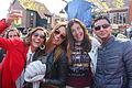 Feestvierders gingen los koningsdag 2015 Spijkenisse.jpg